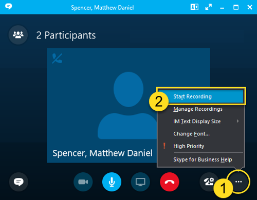 skype for business set up meeting